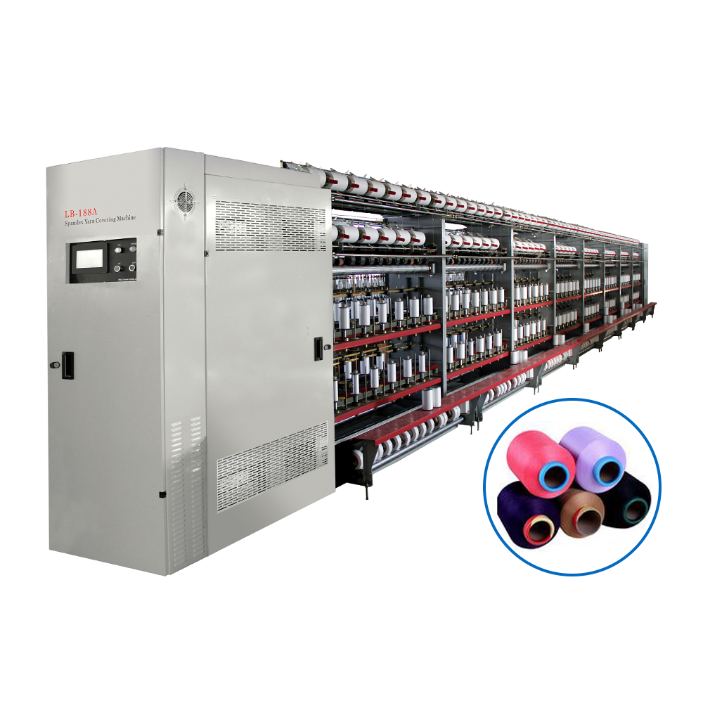 LB-188A Spandex Covering Machine - YARN COVERING MACHINE/AIR